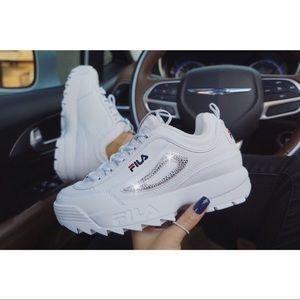 ⚡️Custom Bling Fila Disruptor II Premium⚡️